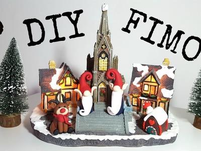 3 DIY Figurines Noël en pâte FIMO. Christmas polymère Clay