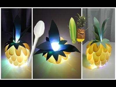 [ DIY ACTION ] Veilleuse Ananas. Idée cadeau - Déco. A faire soi-même