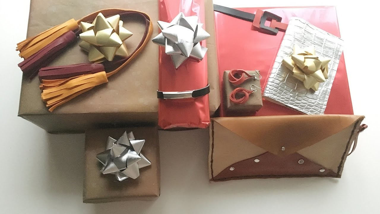 DIY Gift ideas. DIY Idées cadeaux