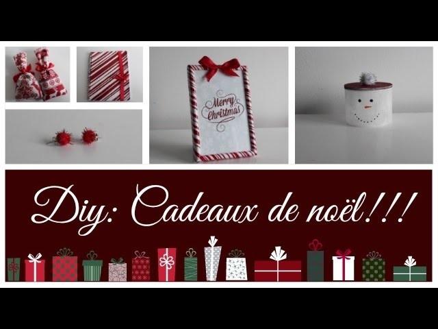 DIY n°6: cadeaux de noël!