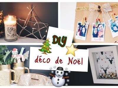 DIY ☆ 4 décorations de Noël ⎢faciles, rapides & petit budget!