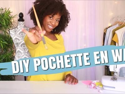 DIY POCHETTE EN WAX || L'atelier de Princesse