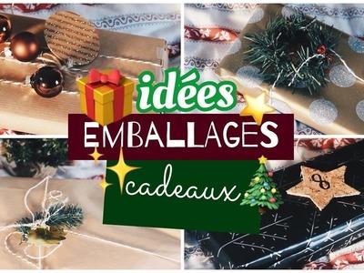 Idées emballages cadeaux ☆ DIY