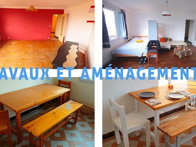 Travaux, DIY, visite de l'appartement