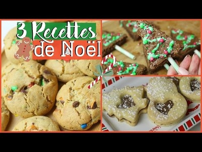 ♡ 3 Recettes FACILES de Noël !