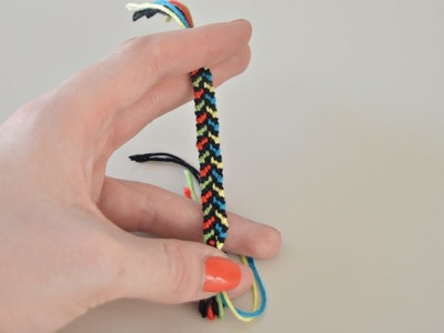 Bracelet brésilien.Friendship bracelet #1 : Facile et rapide
