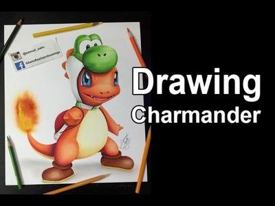 Drawing Charmander ( Pokémon)