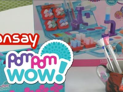 Pom Pom WOW - Démo du studio de création de pompons