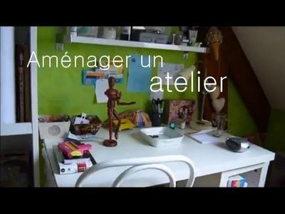 Trucs & astuces pour aménager un atelier - Tips to arrange a workshop !