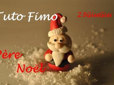 Tuto Fimo Noël : Le Père Noël (Chibi)
