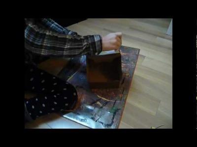 Tutoriel : Fabriquer une boîte à compartiments - Make a box with compartments !