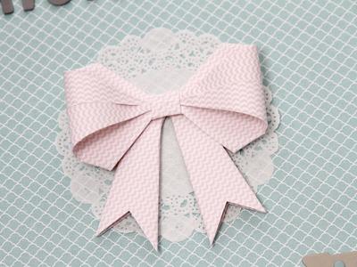 Comment réaliser un noeud en papier en Origami ?