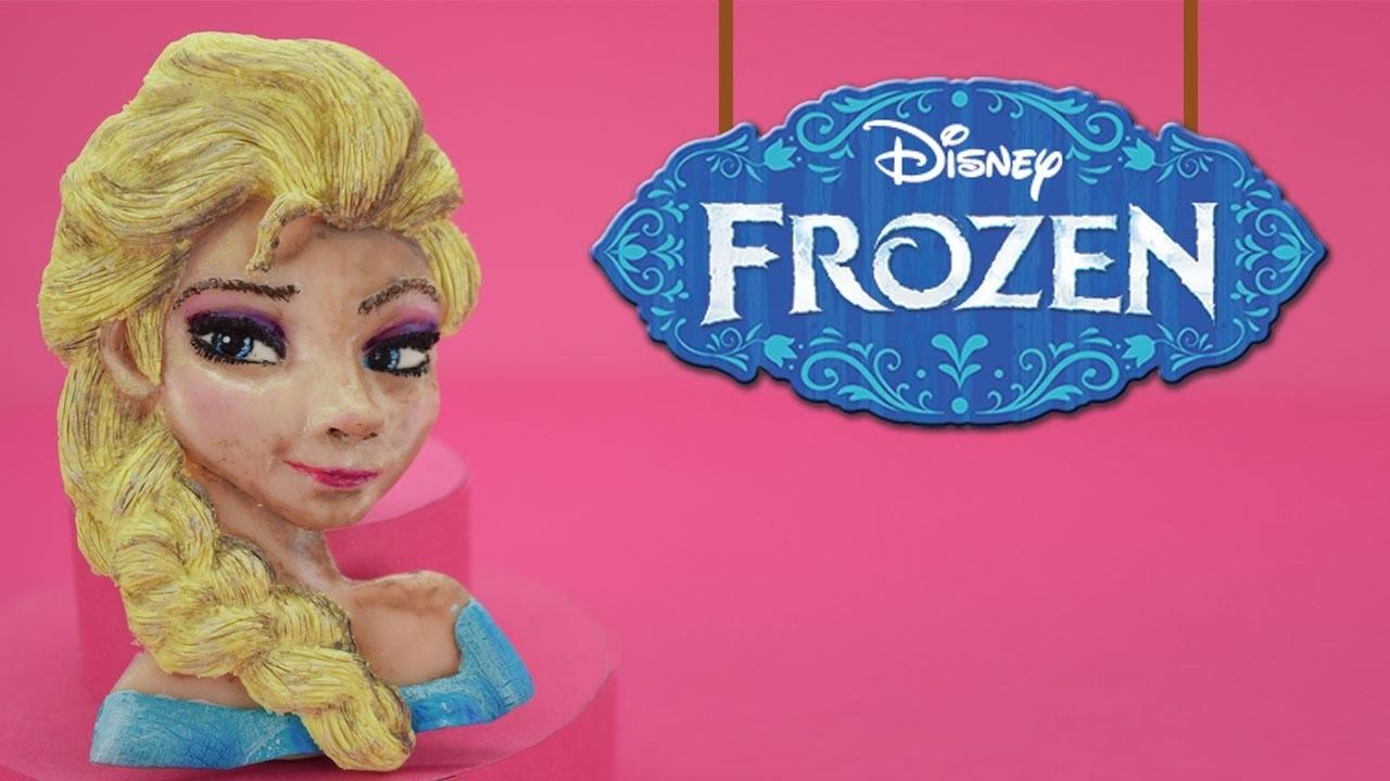 TUTO FIMO ELSA - polymer clay Frozen