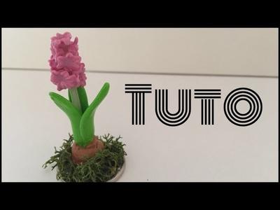 [TUTO Fimo] La fleur de jacinthe