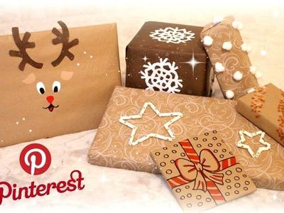 6 Astuces Pinterest pour réussir ses emballages cadeaux à Noël