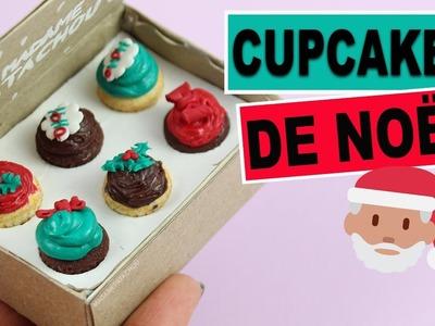 Boîte cupcakes de Noël⎪Fimo