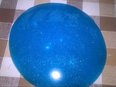 Comment faire du slime couleur turquoise TUTO