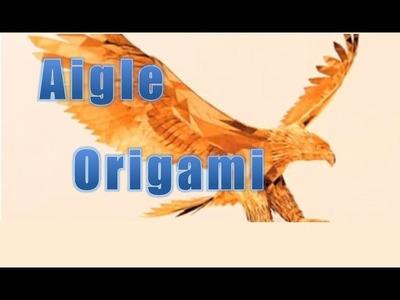 ORIGAMI: Comment faire un aigle en papier ?