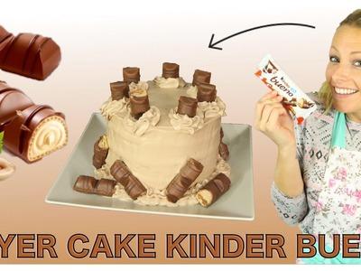♡• RECETTE LAYER CAKE KINDER BUENO | DE LA PURE TUERIE ! •♡