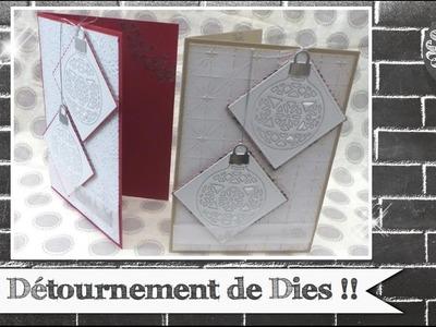 """Vidéo-Tuto """"Détournement de Dies !!"""" par Coul'Heure Papier"""