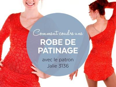 Comment coudre une robe de patinage (patron Jalie 3136)