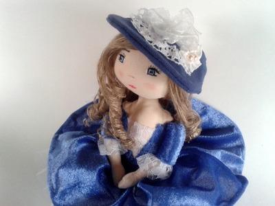 Tuto et patron poupée chiffon : Couture facile