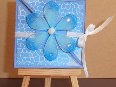 [carterie] n°11: Carte papillon ou Tri-Fold card