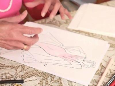 Leçon video 1 de Mme Chérifa Yamini pour dessiner votre Robe.
