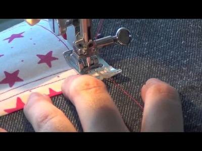 Plaquage de poche - poche triangle (Vidéo 3)