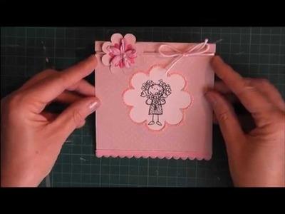 """Tuto : Carte """"Félicitations aux heureux parents"""" #4"""