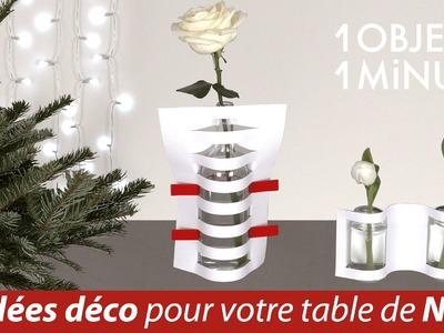 1 objet en 1 minute -  Episode 3 - Idées Déco de Noël