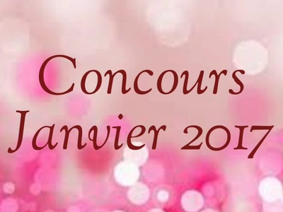 [FRENCH] : CONCOURS 2017