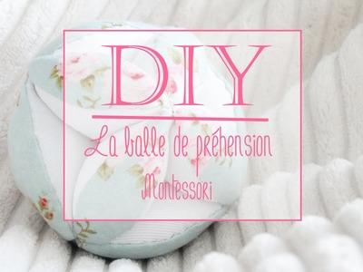 Tutoriel couture : Balle de préhension Montessori