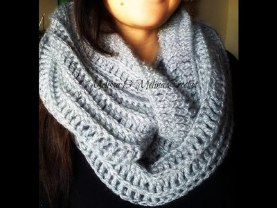 Crochet tour de cou  Snood debutant