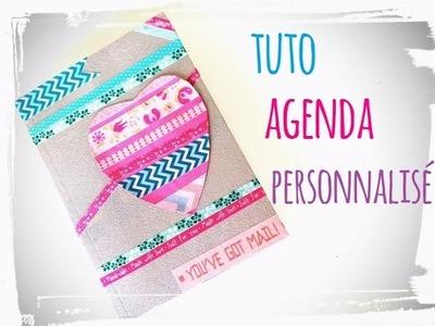 Diy rentrée agenda - cahier personnalisé