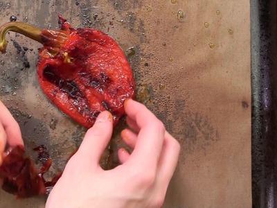 Lasagnes au poulet pané et poivron rouge grillé - DIY.fr