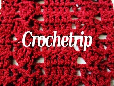 Crochetrip - Motif #1 - Crochet motif - Crochet Pattern - Tutorial