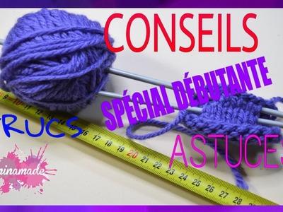 DIY. Conseils, trucs et astuces à savoir quand on débute en tricot.Tips for knitting.