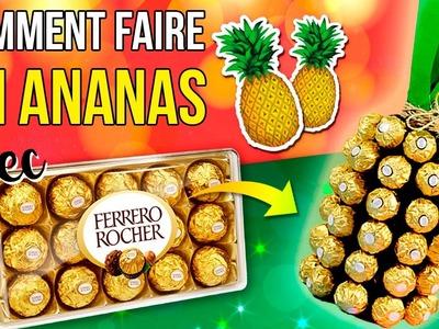 DIY d'ananas FAIT de CHOCOLAT et du VIN * DECOR DE Noël FACILE