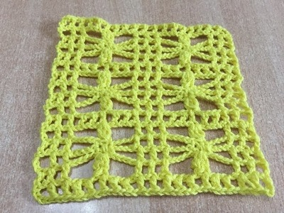 Tuto point fantaisie au crochet