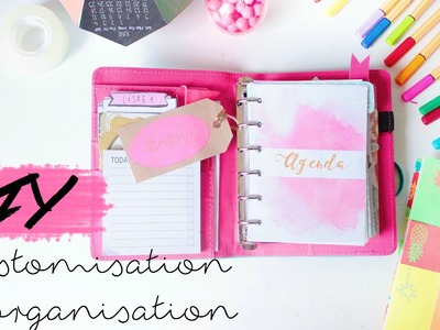 BACK TO SCHOOL | customisation et organisation avec un planner