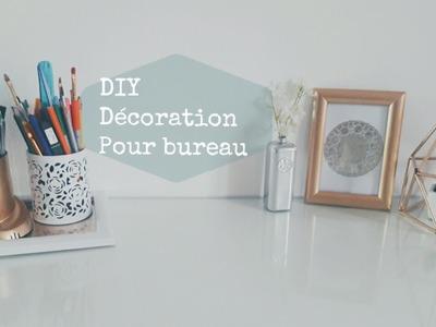 DIY desk decor DIY | décoration bureau | ديكور مكتب DIY | elle c'est moi