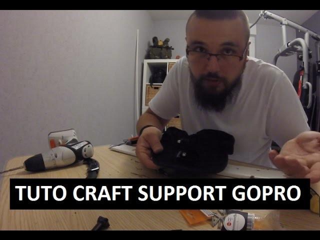 GPL - TUTO CRAFT CASQUETTE SUPPORT GOPRO