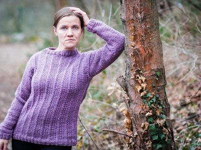 Tuto tricot : pull basic débutants
