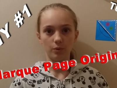 DIY #1   Créer un Marque page original