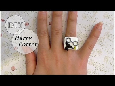 DIY harry potter ring, une bague harry potter ! PLASTIQUE FOU