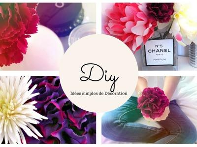 DIY | IDÉES SIMPLES DE DÉCORATION (Tumblr) | Marine Minelle