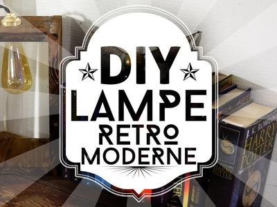 DIY : une lampe retro - moderne avec une ampoule LED façon Eddison