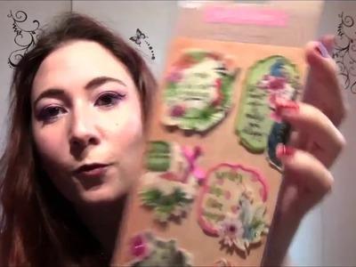 Haul Action  Nouveautés Scrapbooking, beauté et random janvier 2017