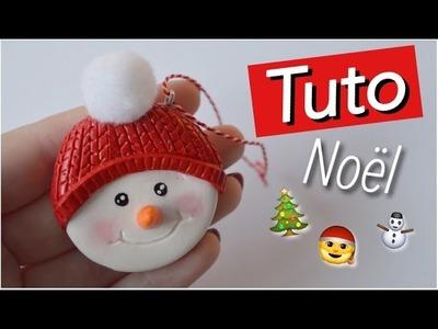 [TUTO Fimo] Bonhomme de neige
